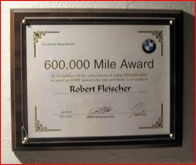 snowbum, in 2015, had ~650,000 miles on bmw motorcycles