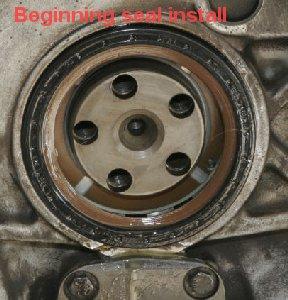 Flywheel Removal Warning Main Seal Oil Pump Cover Oil