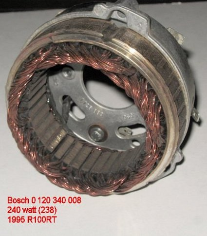 BMW Airhead Motorcycle Aftermarket and stock Alternators,Bosch