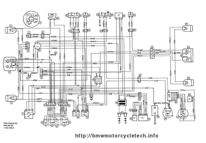 R65 bmw motorcycle, airhead, r65ls, r65, r45, r80st wiring schematic motorcycle wiring schematics at readyjetset.co