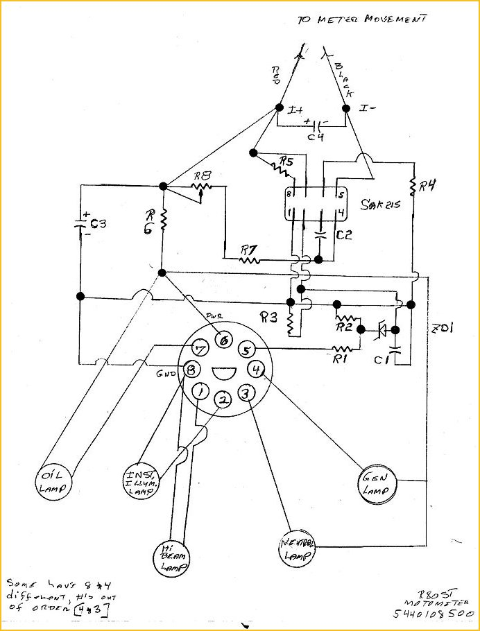 k1100r instrument wiring diagram