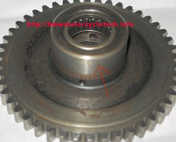Starter motor clutch problem