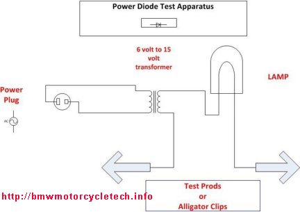 diode boards and mounts on bmw airhead motorcycles repair rh bmwmotorcycletech info 12V Diode Wiring-Diagram Laser Diode Wiring-Diagram